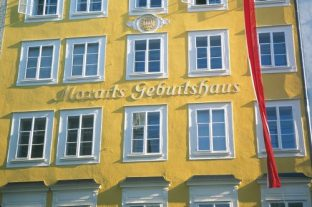 Mozarts Birth House, Salzburg